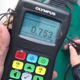 TMTECK made D 794 probe for OLYMPUS Thickness gauge 27MG